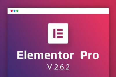 wordpress精选可视化编辑插件elementor pro中文破解汉化版  V2.6.2 [找主题亲测]