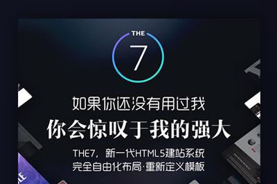 【The7主题汉化版V9.0.0.1】带42套模板视频响应式的wordpress多功能多用途主题[无加密带视频教程]